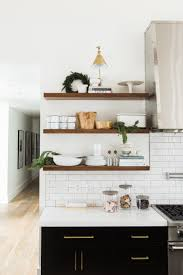 Black White Kitchen A Very Mountain Home Christmas Gold Kitchen White Wood And Woods