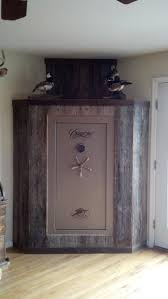 bedroom gun safe barn wood gun safe now that s a nice room accent living room