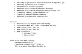nanny sample resume resume sample nanny sample resume nanny