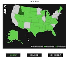 pa carry permit reciprocity map gear holsters