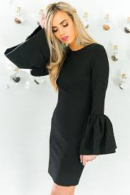black dress the bardot dress in black impressions online boutique