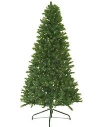 4 pre lit noble fir artificial tree multi color