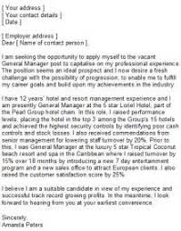 Sample Resume Of Hospitality Management by Catering Manager Cover Letter Skill Based Resume Example Wondrous