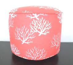 Coral Ottoman Pink Pouf Ottoman Large Size Of Pouf Target Pouf Light Pink
