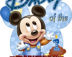 mickey mouse 1st birthday shirt baby mickey 1st birthday clipart 49