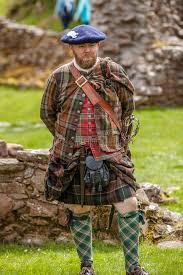 historical pattern review scottish highlander historical review editorial photography image