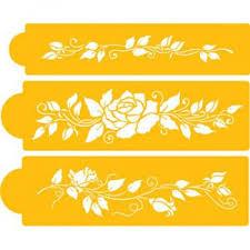 design stencil for cake u0026 cupcake