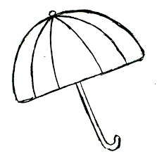 printable coloring pages of umbrella to color umbrella day