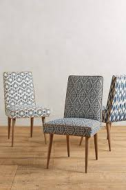 Patterned Dining Chairs Shellflower Zolna Chair Anthropologie Dining And Room
