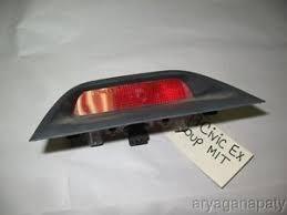 2008 honda civic third brake light 96 00 honda civic oem third brake light with garnish bulb dark