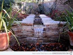 Water Feature Ideas For Small Backyards Great Water Feature Ideas For Patio Small Patios Water Feature