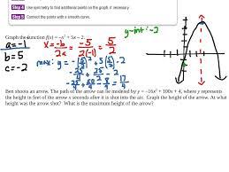 showme algebra 1 grade 9 graphing quadratic functions