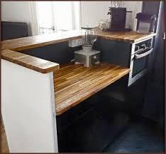 faire un plan de travail cuisine plan de travail sur mesure bois maison design bahbe com