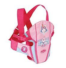 siege auto pour poupon baby born sac porte bébé accessoire pour poupon 43 cm baby
