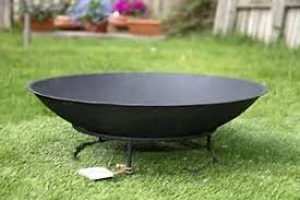 Metal Firepit Outdoor Metal Pit Bowl For Garden Patio Heating