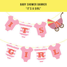 baby shower banners baby shower banner