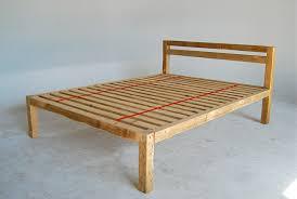 Bed Frame Plans Platform Bed Plans Single Style Montserrat Home Design