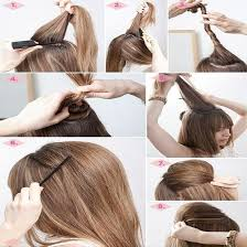 hair steila simpl is pakistan best quick and simple hairstyle pics tutorial just bridal