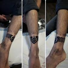 60 ankle band tattoos for lower leg design ideas