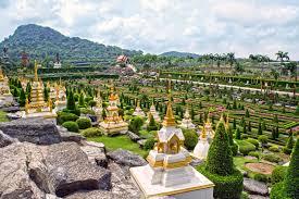 Nong Nooch Tropical Botanical Garden by Pattaya Bangkok 5 Day Package Simply Thailand Ex Kolkata By