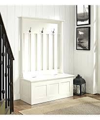 white ogden entryway tree storage bench white tree with