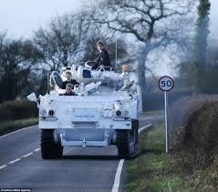 light armored vehicle for sale military enthusiast nick mead drives children to every