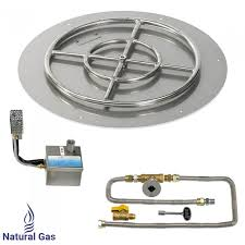 Fire Pit Gas Ring by Shop American Fireglass Sit Electronic Ignition Fire Pit Kits