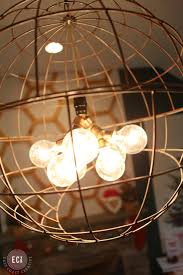 Diy Light Fixtures by Diy Modern Pendant Light East Coast Creative Blog