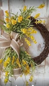 Home Decor Front Door Spring Wreath Front Door Wreath Summer Wreath Easter Decor