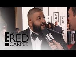 E Red Carpet Grammys Major Key Alert Dj Khaled Arrives At 2016 Grammy Awards Live