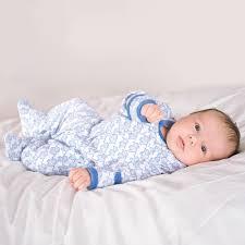 Jojo Meme Bebe - little elephants baby sleepsuit jojo maman bebe