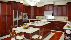 kitchen cherry cabinets kitchen cabinets rta prefab los angeles remodeling
