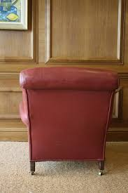 Red Leather Chair Leather Chairs Of Bath Chelsea Design Quarter 19th Century Red
