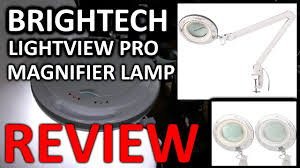 Led Magnifier Floor Lamp Brightech Lightview Pro Dimmable Led Magnifier Lamp Youtube