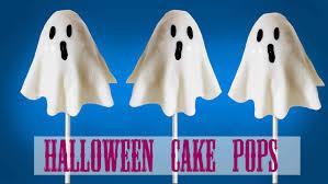 halloween cake pop geister youtube