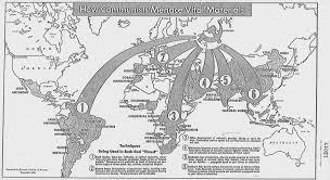Map Of Richmond Va How Communists Menace Vital Materials U201d Class Discussion