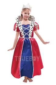 Queen Elizabeth Halloween Costume Boys Royal Prince Girls Queen Costume Book Fairytale