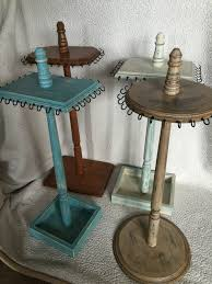 necklace holder stand images Wooden jewelry stand jewelry tree jewelry display necklace jpg