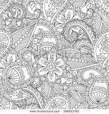 coloring pages henna art coloring pages for adults seamless pattern henna mehendi doodles