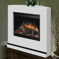 Dimplex Electric Fireplace Insert Dimplex Milan White Electric Fireplace Convertible Mantel Package