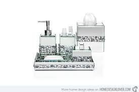 Clear Bathroom Accessories by 15 Trendy Modern Bathroom Accessories Set Home Design Lover