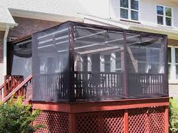 Pergola Mosquito Curtains Patio Netting Screen 9ft 9 39 Square 6 3 5 Foot Height Patio