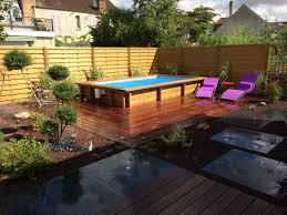 jardin paysager avec piscine amenager un jardin paysager 7 paysagiste auxerre creation verte
