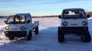 hunting truck for sale suzuki carry mini trucks tires vs tracks youtube
