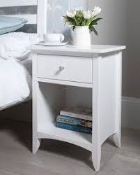 cheap white side table winslow white 2 drawer open cubbie nightstand overstock com