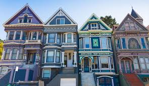 San Francisco Neighborhood Map by Painted Ladies San Francisco Architecture Bay City Guide San