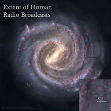 How Many Kilometers Are In A Light Year This Is How Far Human Radio Broadcasts Have Reached Into The