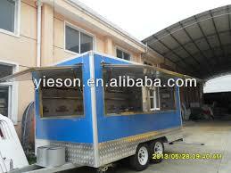 fast food trailer food truck food van use car towing mexican