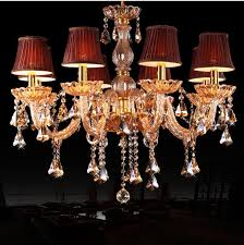 Chandeliers With Shades And Crystals by Compare Prices On Red Chandelier Shade Online Shopping Buy Low