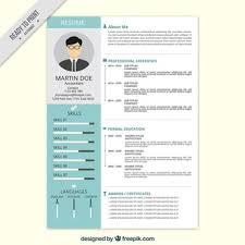 resume format download free standard cv template 4 download